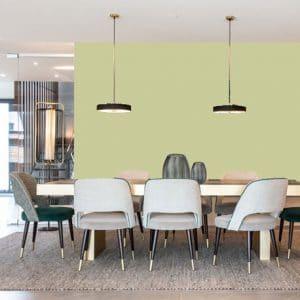 Little Greene Wandfarbe Kitchen Green 85 Wandfarbe Gelb Grün Wandfarbe oltivton Warme Wandfarbe