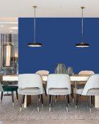 Little Greene Wandfarbe Smalt 255 Ozeanblau Wandfarbe Royal Blau Wandfarbe Royalblaue Wandfarbe