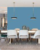 Little Greene Wandfarbe Tivoli 206 Hellblauer Wandanstrich Intensive Himmelblaue Wandfarbe Kühle Wandfarbe