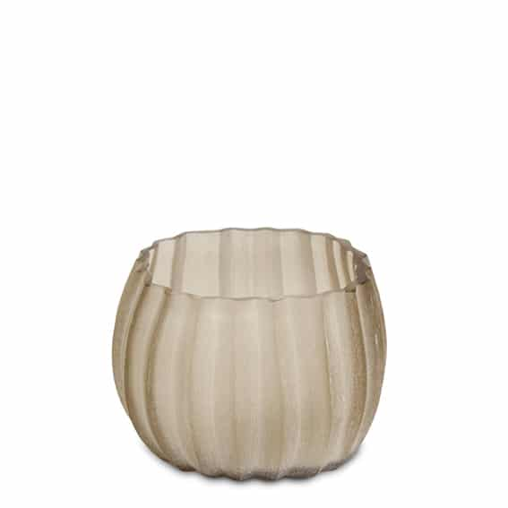 Guaxs Manakara Small Smokegrey Guaxs Online Shop Guaxs Teelichthalter Guaxs Windlicht Grau Raues Glas